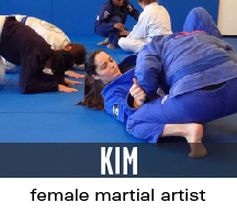 kim female martial artist