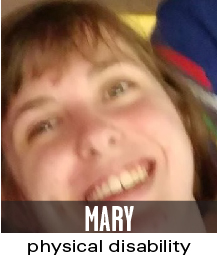 mary physical disability
