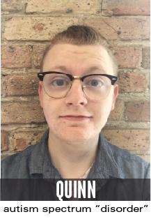 quinn: autism spectrum disorder