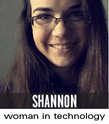 shannon woman in tech