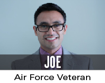 joe: air force veteran