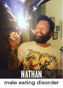 nathan: male eating disorder