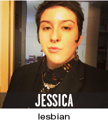 Jessica: lesbian